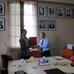 Kunjungan Rektor UB ke PT Biofarma